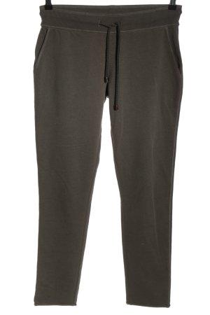 Juvia Pantalon de jogging brun style athlétique