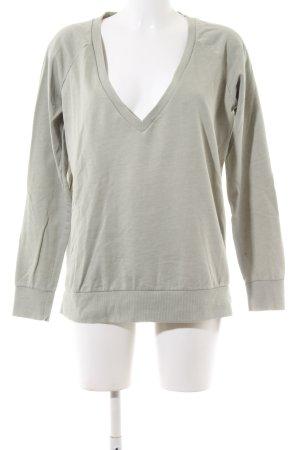 Juvia V-Ausschnitt-Shirt hellgrau Casual-Look