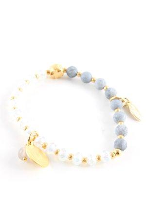Juwelenkind Perlenarmschmuck mehrfarbig Casual-Look