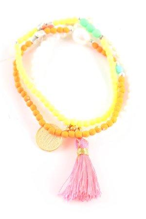 Juwelenkind Perlenarmschmuck mehrfarbig Party-Look