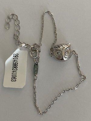 Juwelkerze Armband Silber Eule