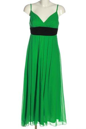 JVN Ballkleid grün-schwarz Elegant