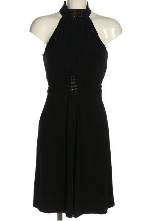 JVN Robe stretch noir élégant
