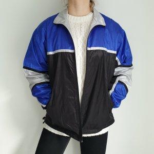 jw Active XL blau schwarz True Vintage Pulli Pullover Jacke Trainigsjacke Hoodie Sweater Oversize