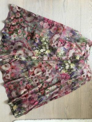 K&K Flared Skirt pink mixture fibre