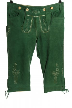 K & K Kaiserjäger Traditional Leather Trousers green casual look