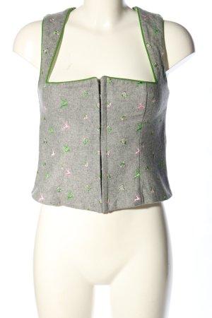 K & K Kaiserjäger Folkloristische vest prints met een thema casual uitstraling
