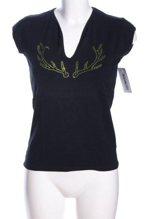 K&K T-Shirt schwarz Casual-Look