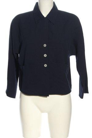 K Langarm-Bluse blau Casual-Look
