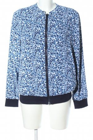 Reversible Jacket white-blue allover print casual look