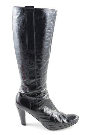 K+S Absatz Stiefel schwarz Casual-Look
