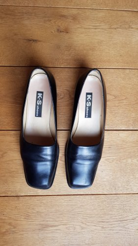 K+S Shoes Loafers black-black brown leather