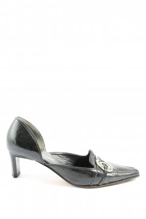 K+S Shoes Spitz-Pumps schwarz Casual-Look