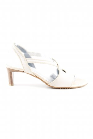 K+S Shoes Peeptoe Pumps blasslila-creme Elegant