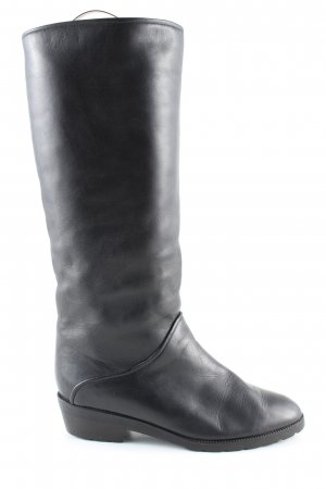 K+S Shoes Winterstiefel schwarz Casual-Look