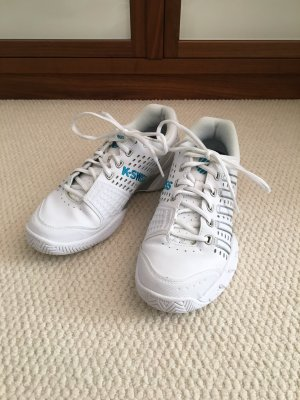 K-Swiss Damen Tennis Schuhe, weiß, Größe 39, neuwertig