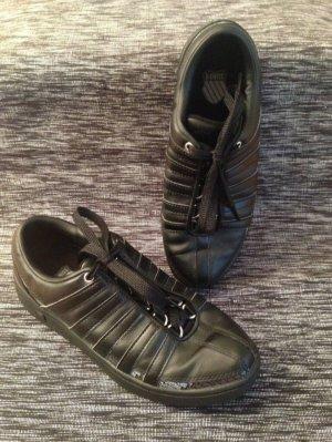 K-Swiss Sneaker Schnürsneaker / Schwarz mit Weiß / Gr. 41 / NEU