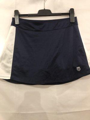 K-swiss Sportbroek wit-donkerblauw