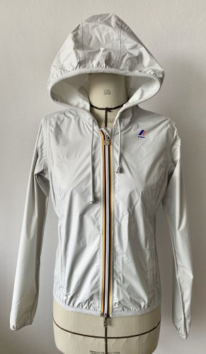 K-way Imperméable gris clair polyamide
