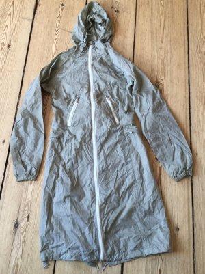 K-way Płaszcz przeciwdeszczowy szaro-zielony