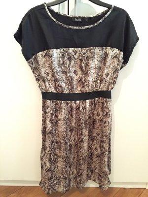 K.ZELL Empire-Kleid mit Animal Print Größe M