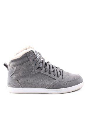 K1X High Top Sneaker light grey casual look