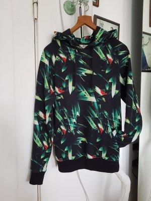K1X Hoodie Kapuzenpulli Sweatshirt Pullover Schwarz Grün