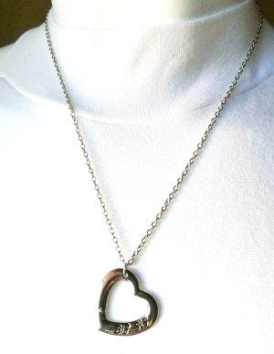Ka4257,Damen Kette mit Herzanhänger