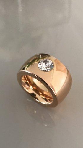 Kado Ring rose vergoldet