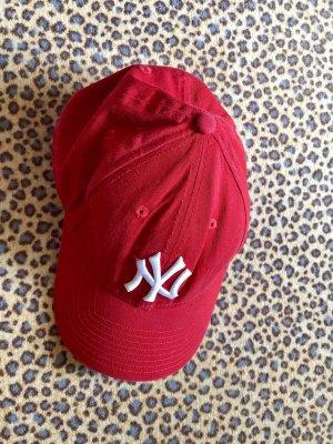 New Era Gorra de béisbol rojo