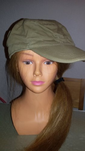 Polo Visor Cap green grey-olive green