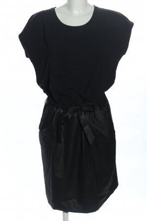 Kaffe A-Linien Kleid schwarz Business-Look