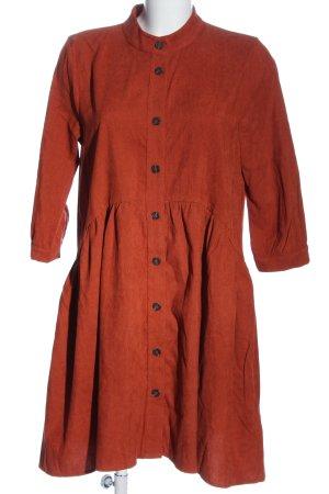 Kaffe Sukienka typu babydoll jasny pomarańczowy W stylu casual