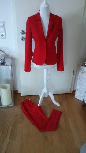 Kaffe Traje de pantalón rojo ladrillo