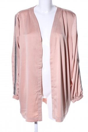 Kaffe Cardigan pink Streifenmuster Casual-Look