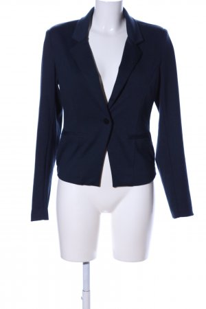 Kaffe Jerseyblazer blau Business-Look