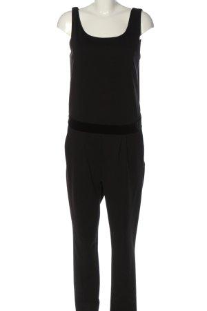 Kaffe Langer Jumpsuit schwarz Elegant