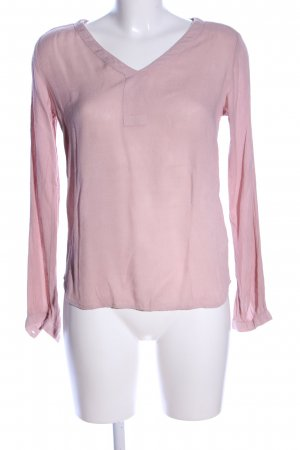 Kaffe Schlupf-Bluse pink Business-Look