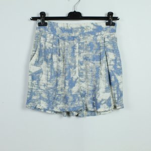KAFFE Shorts Gr. 34 hellblau gemustert (19/07/292*)