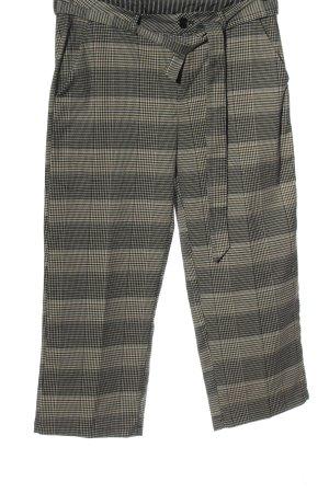 Kaffe Pantalón tipo suéter gris claro-blanco puro estampado a cuadros