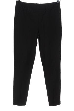 Kaffe Pantalone jersey nero stile casual
