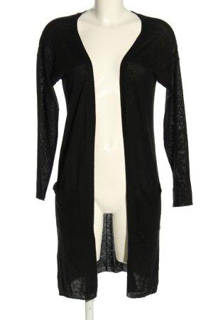 Kaffe Cardigan in maglia nero modello web elegante
