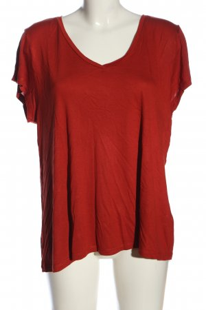 Kaffe Strickshirt rot Casual-Look