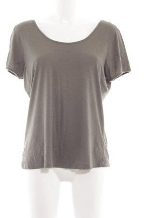 Kaffe T-Shirt braun Casual-Look