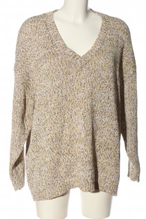 Kaffe Zopfpullover Allover-Druck Casual-Look