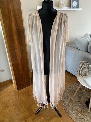 Kaftan Kimono Strandbekleidung rosa neu gr 34/36