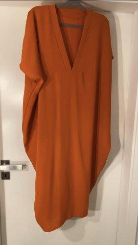 Caftano arancione scuro