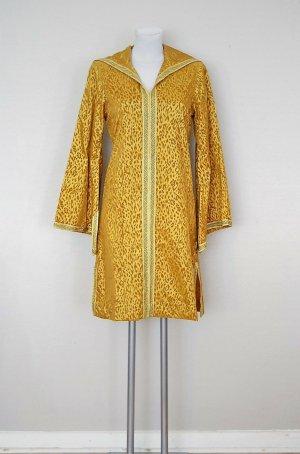 Handmade Caftan gold-colored-gold orange