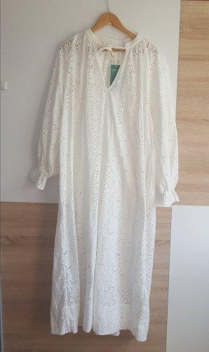 H&M Caftano bianco sporco-crema