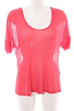 Kain label Longsleeve pink Casual-Look